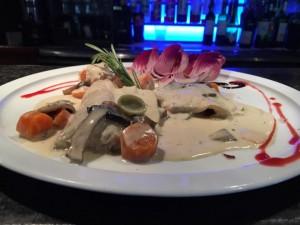 Blanquette de poissons riz pilaf